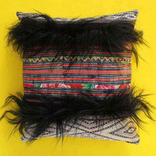 Lu Hmong Goat Hair 20×20